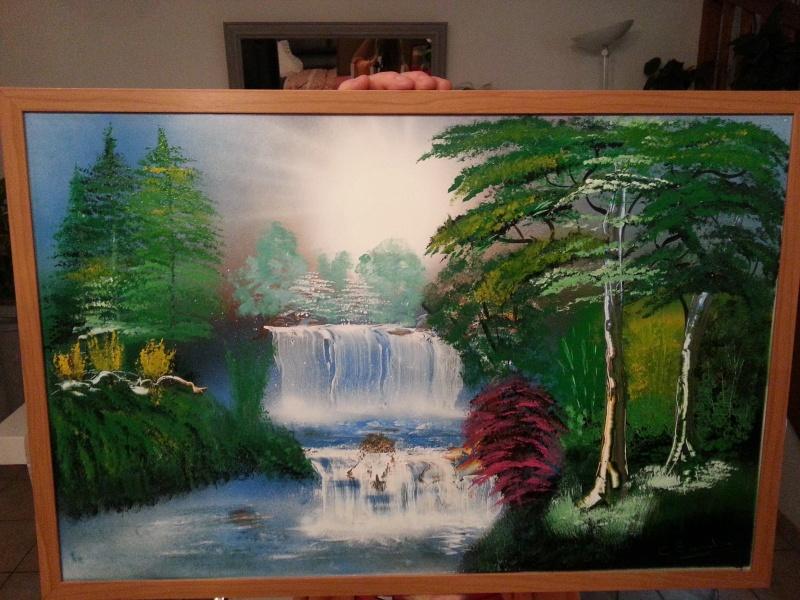mes 1er tableaux après 1 mois 20160523