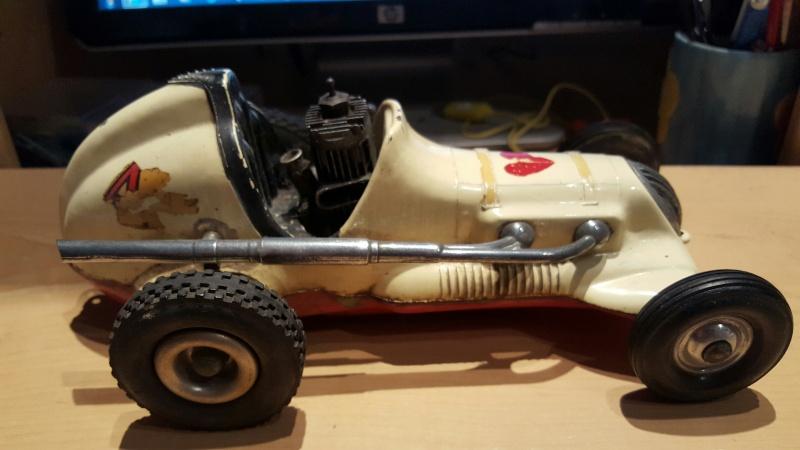 1960s roy cox thimbledrome champion tether car 20160511
