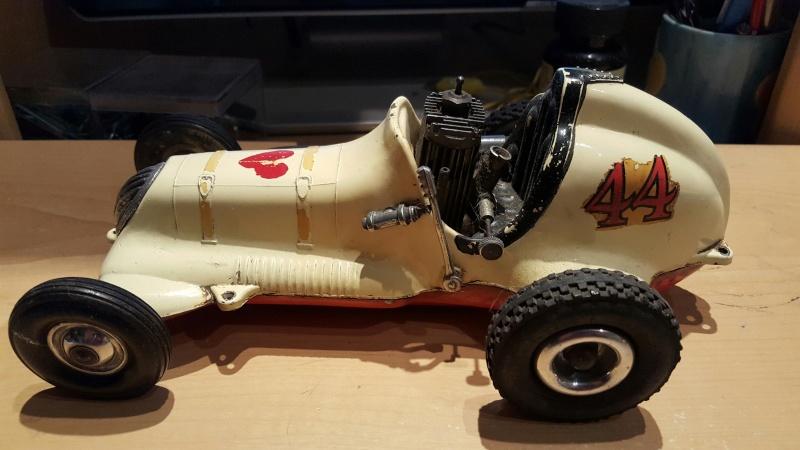 1960s roy cox thimbledrome champion tether car 20160512