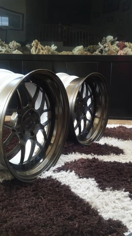 F.S.         3 pcs GMR RS-1 wheels..Bronze! 20160414