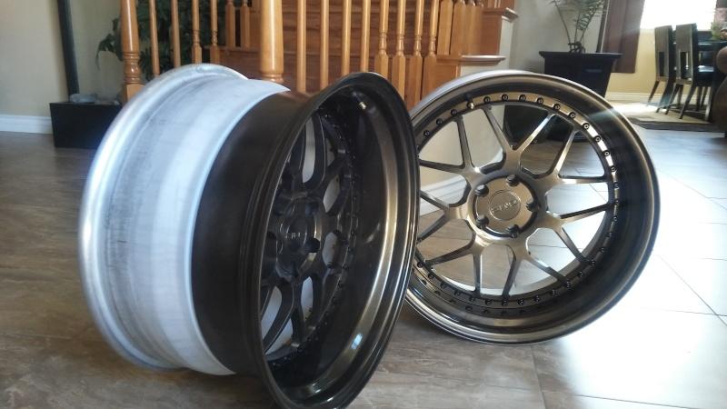 F.S.         3 pcs GMR RS-1 wheels..Bronze! 20160415