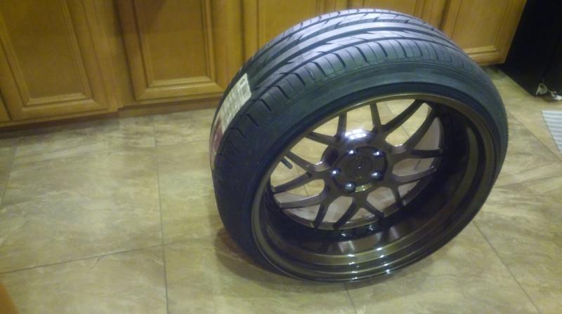 F.S.         3 pcs GMR RS-1 wheels..Bronze! 20160418