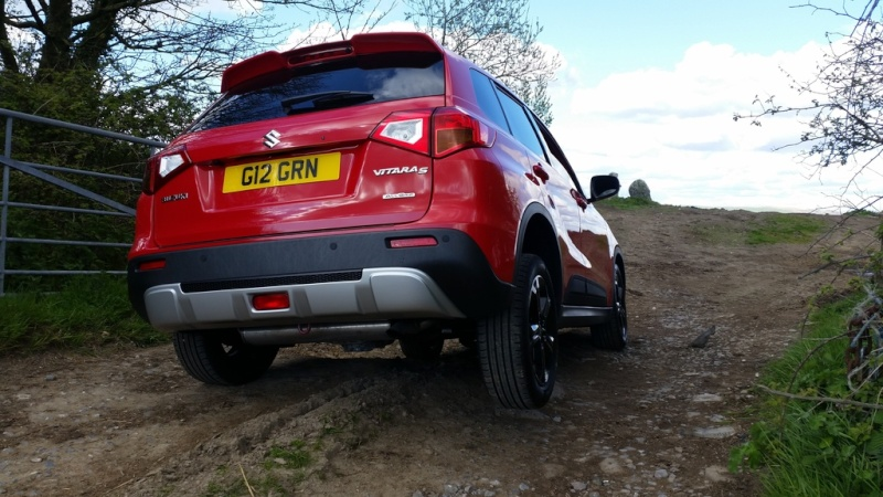 """First """"Off Road"""" Adventure with the S  20160416"""