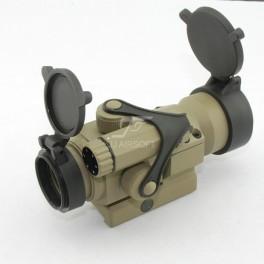 colt M4A1 king arms + red dot tan + CASQUE VFORCE + BILLE KA 0.25g Jj-air10