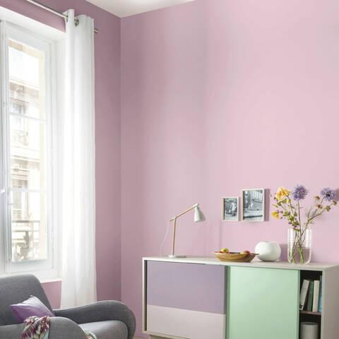 Chambre Cocooning Vieux Rose Blanc Et Gris Pashmi10