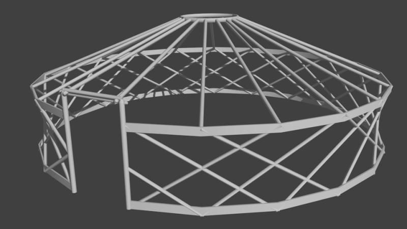 Yurts/Tents Render16