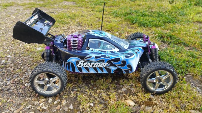mon Buggy SEBEN RACING 4WD 1/10 20160510