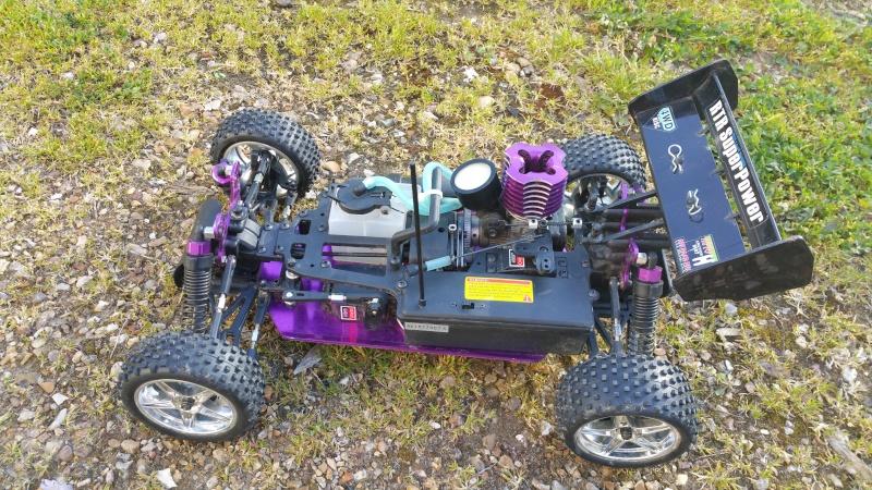 mon Buggy SEBEN RACING 4WD 1/10 20160515