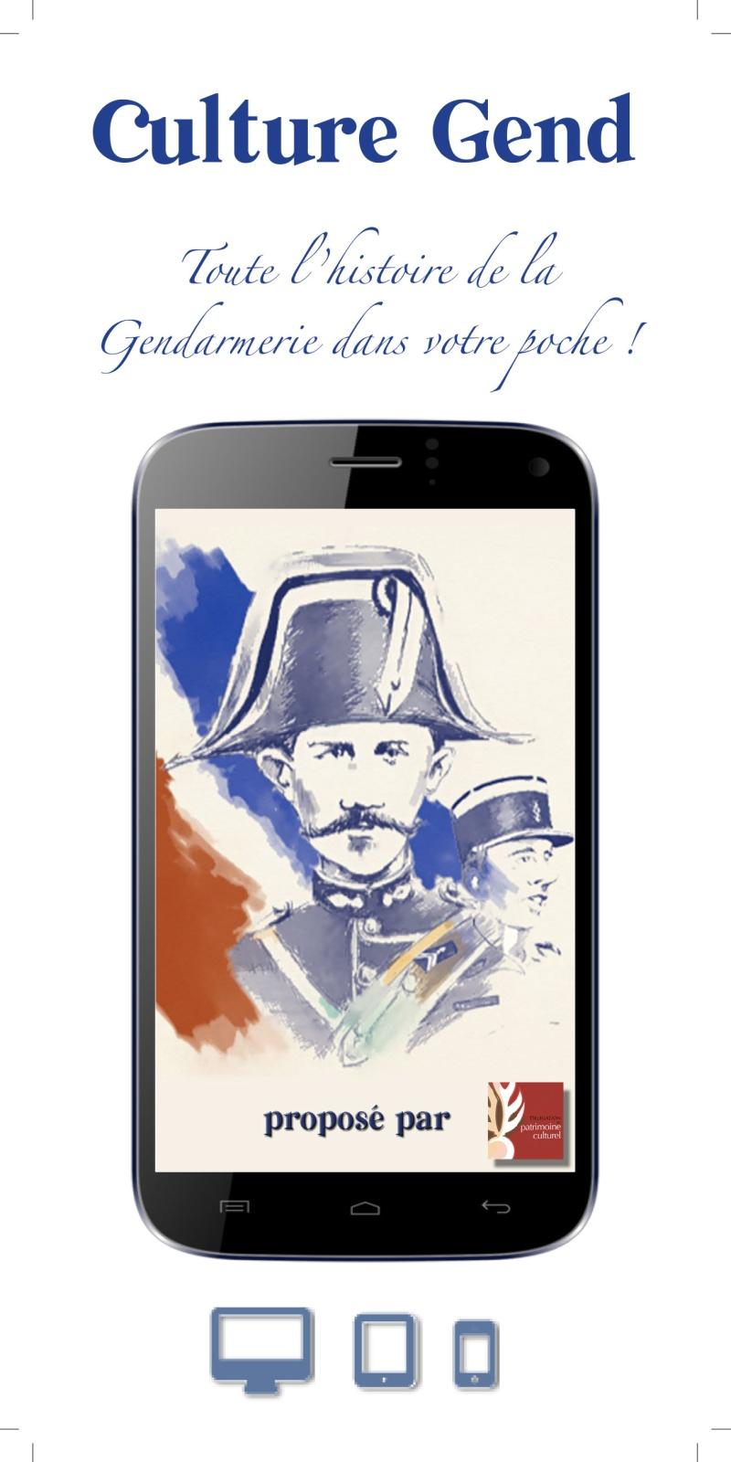 application mobile CULTURE GEND  _flyer10