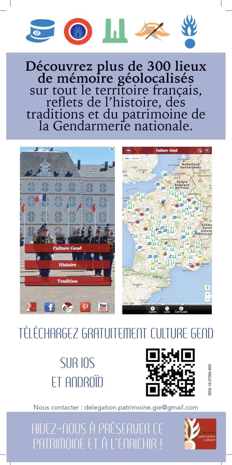 application mobile CULTURE GEND  _flyer11