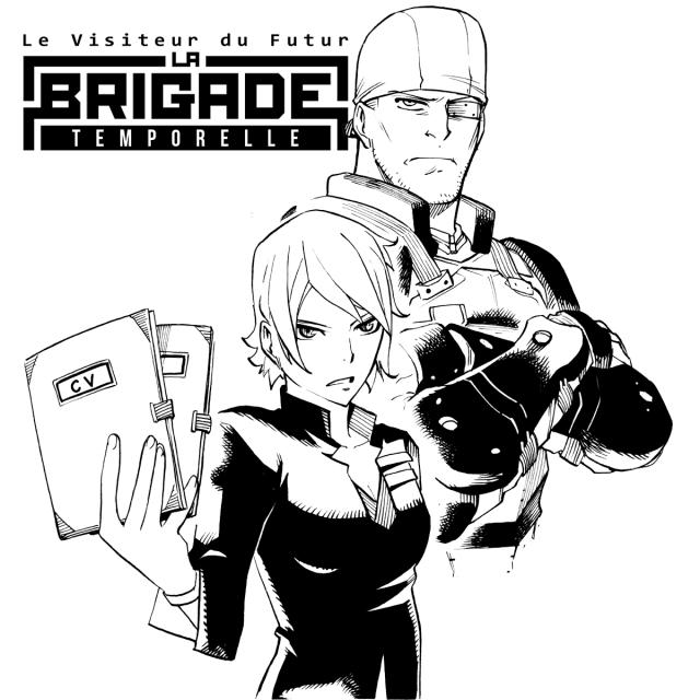 Le manga du Visiteur du Futur : La Brigade Temporelle - Page 5 13173310
