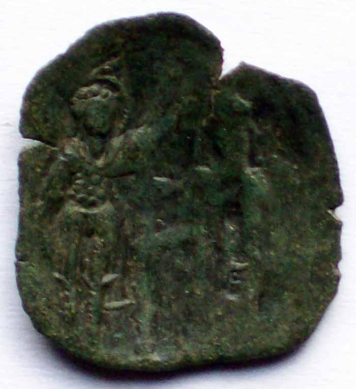 Monnaie scyphate à Id. 28810