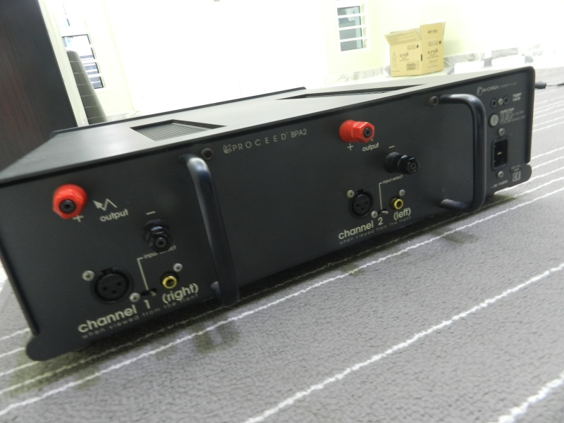 Proceed BPA2 Power Amp (Used) Dscn5311