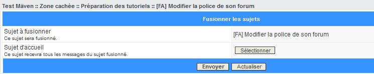 Les outils de modération Fusion10