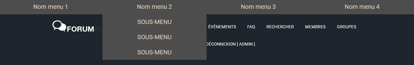 [Toutes versions] Menu de navigation en haut du forum Rendu13
