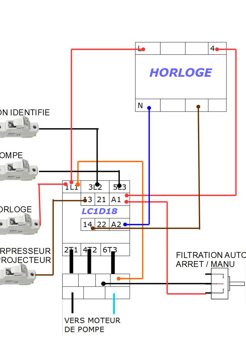 Branchement disjoncteur magnéto-thermique Scema_10