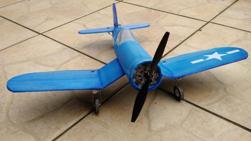 Réalisation d'un F4U Corsair pour l'indoor 1710