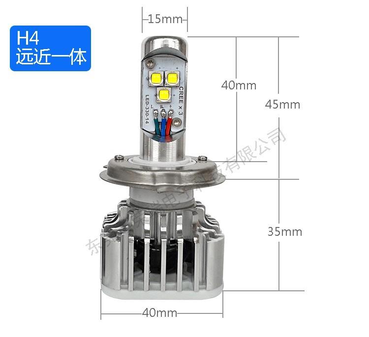 Info placement ampoule LED H4 Htb1um10