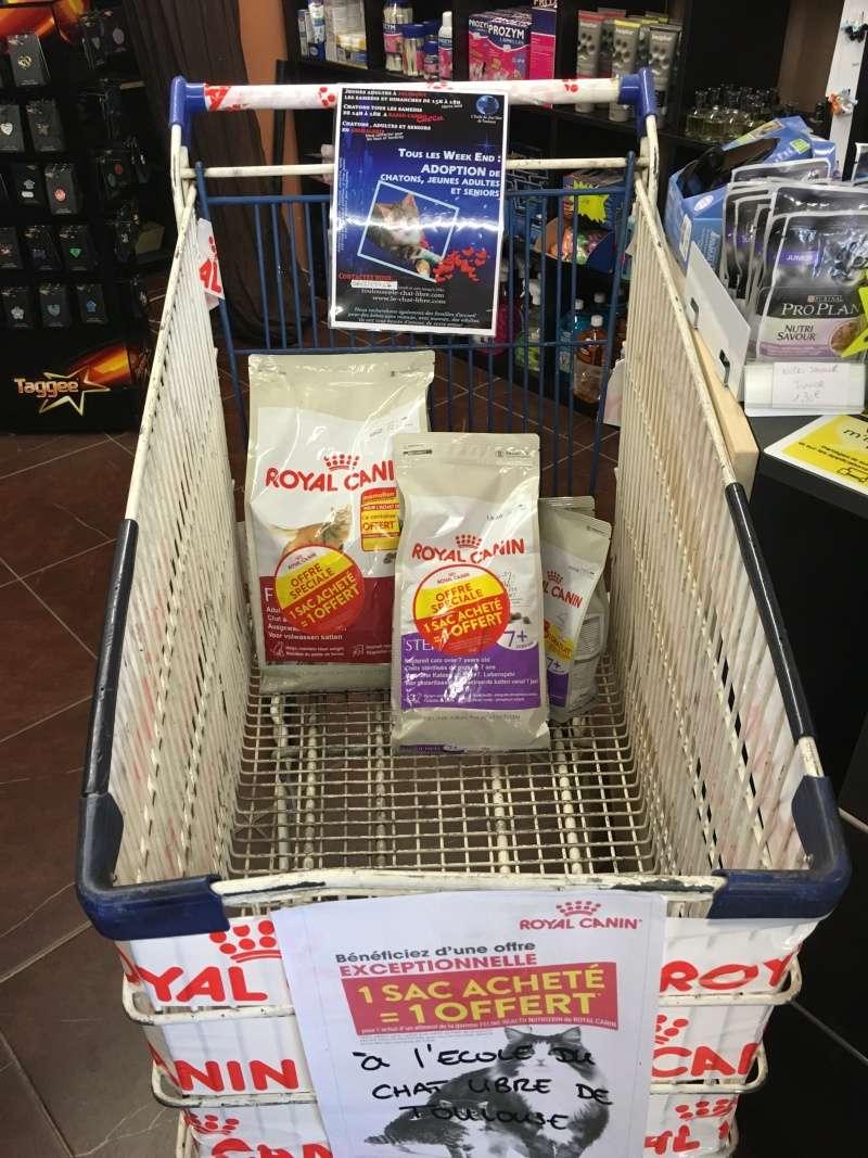 A Canicat, pour 1 sac RC acheté, 1 sac offert à l'association Image310