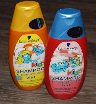 [schwarzkopf] shampoing 2 en 1 schtroumpfs Shampo11