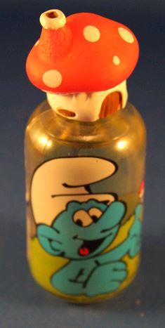 [segura perfumes] bouteilles de parfums schtroumpfs et savon Shampo21
