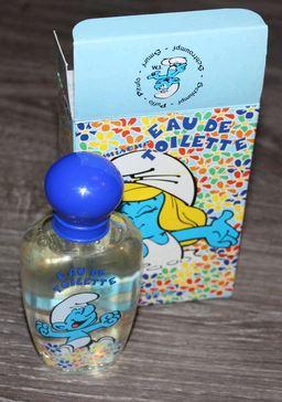 [segura perfumes] bouteilles de parfums schtroumpfs et savon Shampo22