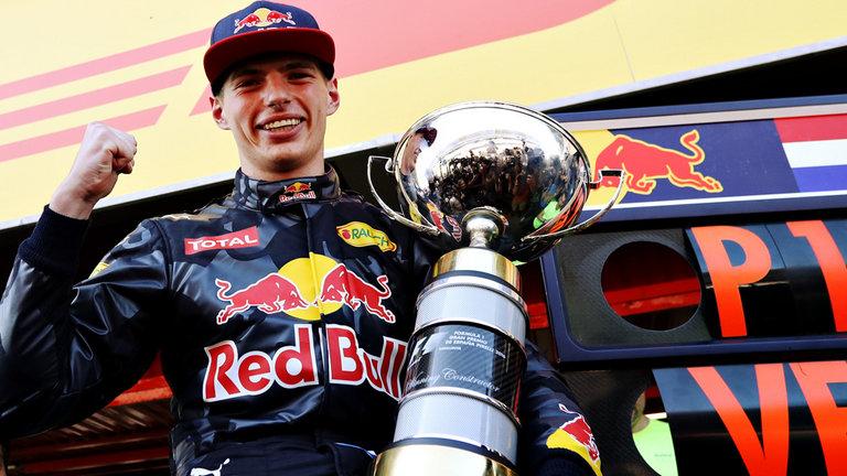 """Verstappen: """"No esperaba ganar, pero es una sensación increíble"""" Versta10"""