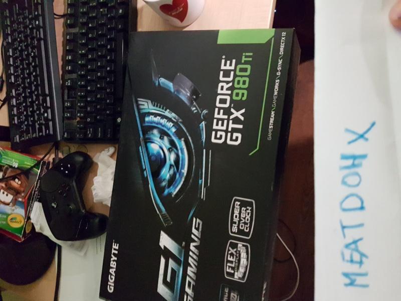 FS  Gigabyte GTX 980 TI G1 Gaming // GV-N98TG1 GAMING-6GD  20160511