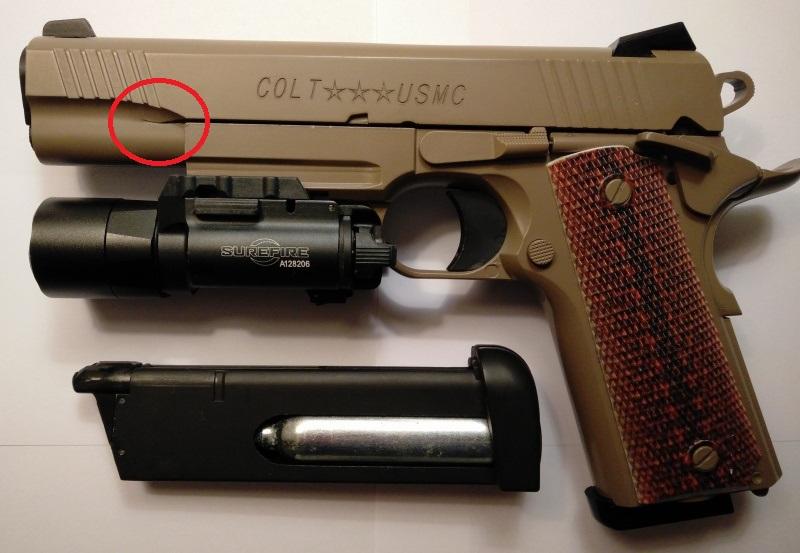 un Colt 45 bbs à partit d'un airsoft... - Page 4 Colt_m10