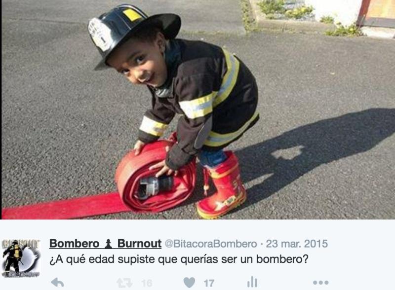 ¿A qué edad supiste que querías ser un bombero? Captu199