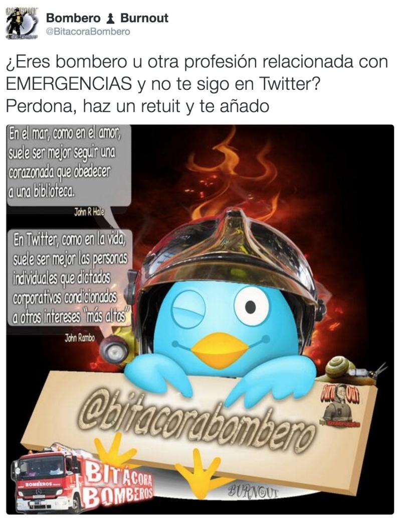Eres bombero profesional de España, aspirante, otros [Sondeo] Captu238