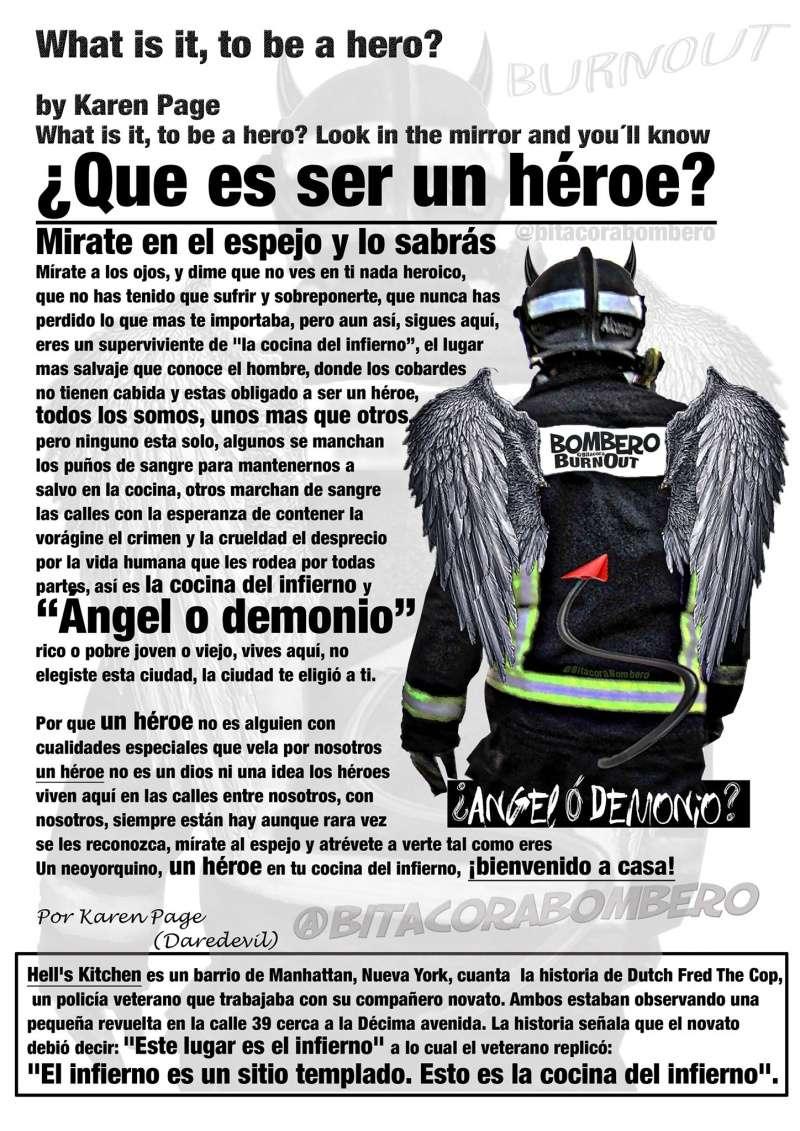 ¿Que es ser un héroe? Mírate en el espejo y lo sabrás Heroe10