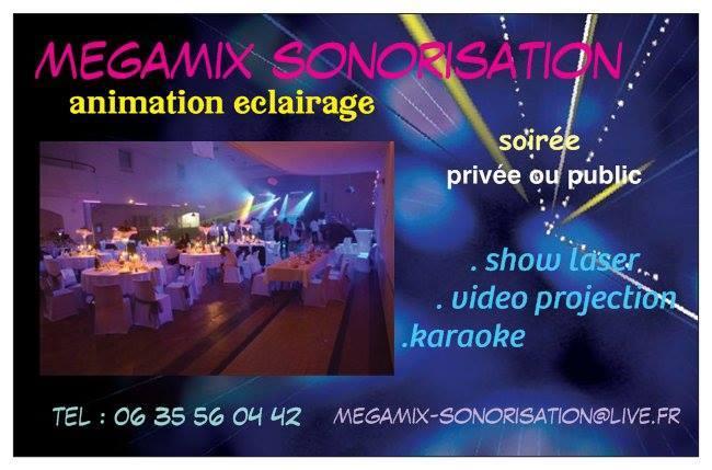 mégamix sonorisation 12400911