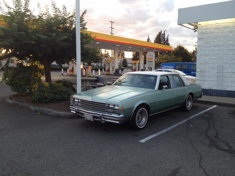 1978 Impala Sedan, 2-owner, -Only one I've ever seen like it- Dealer Car? 1110