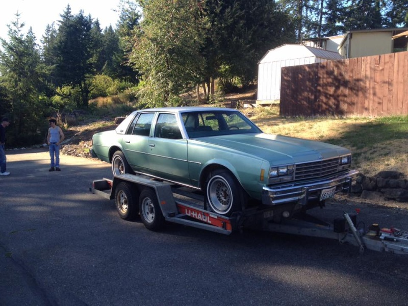 1978 Impala Sedan, 2-owner, -Only one I've ever seen like it- Dealer Car? 310