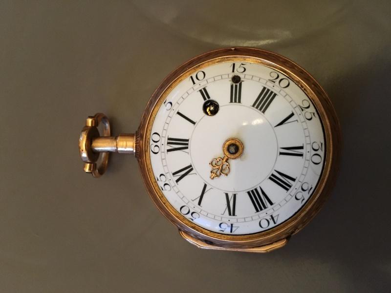 Julien Le Roy, enameled watch circa 1750 Coq_fa10