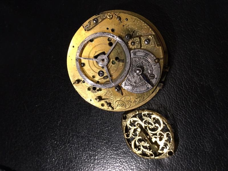 Julien Le Roy, enameled watch circa 1750 Coq_mv10
