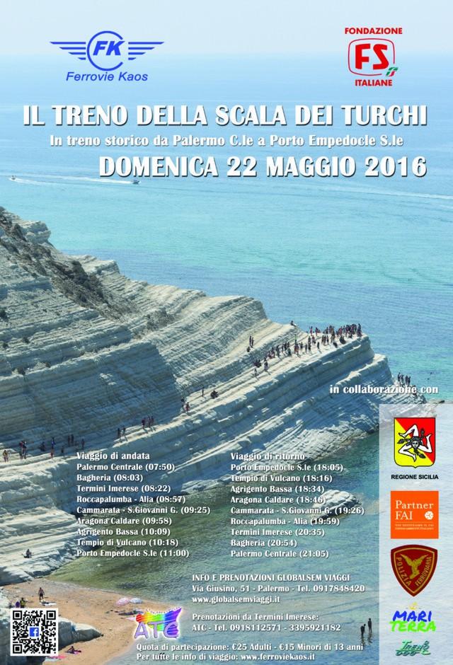 22 maggio 2016 - Treno Storico della Scala dei Turchi: da Palermo a Porto Empedocle Locand10