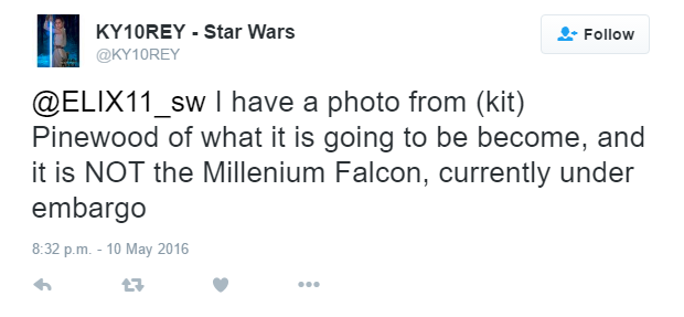 [ARCHIVE] SW Sequel Trilogy Spoilers/Rumors Tweet10