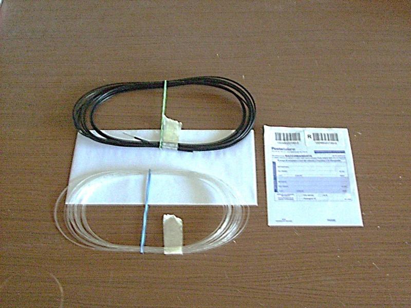 nera - Fibra ottica inguainata nera: kit per modellismo. Foto_k11