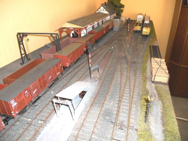 Bahnhof Hemer im Vorbild und Modell, Spur 0 Dscn0110