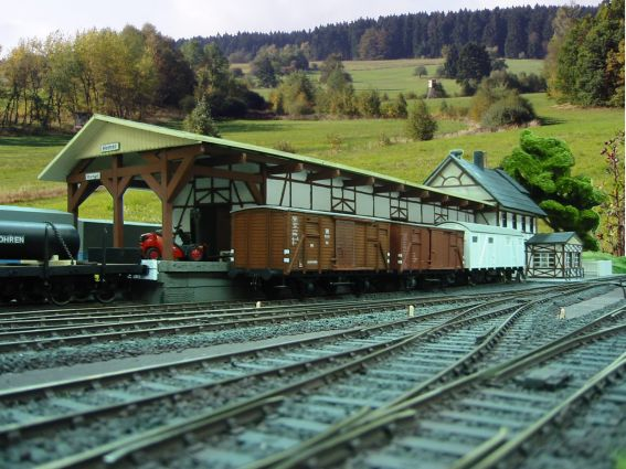 Bahnhof Hemer im Vorbild und Modell, Spur 0 Hemer010