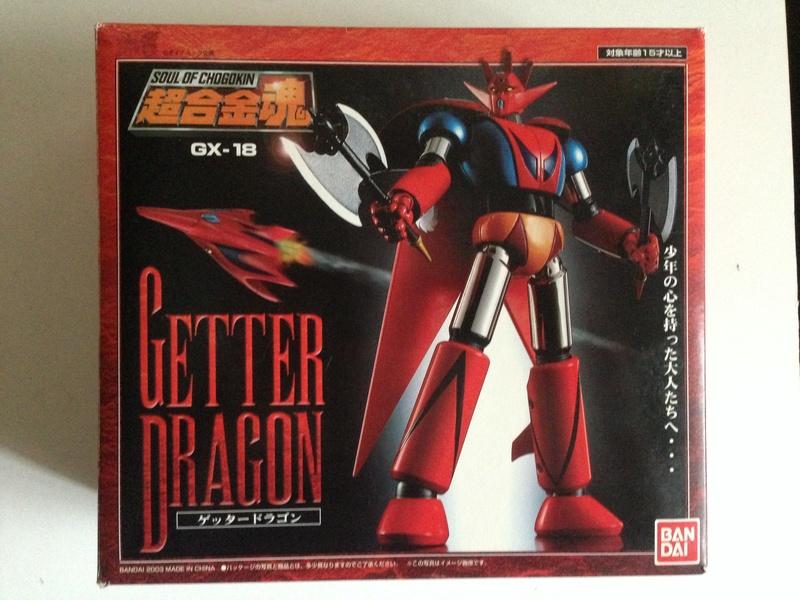 Vendo Soul of Chogokin getter robot gx 18 - 19 - 20 Img_2310