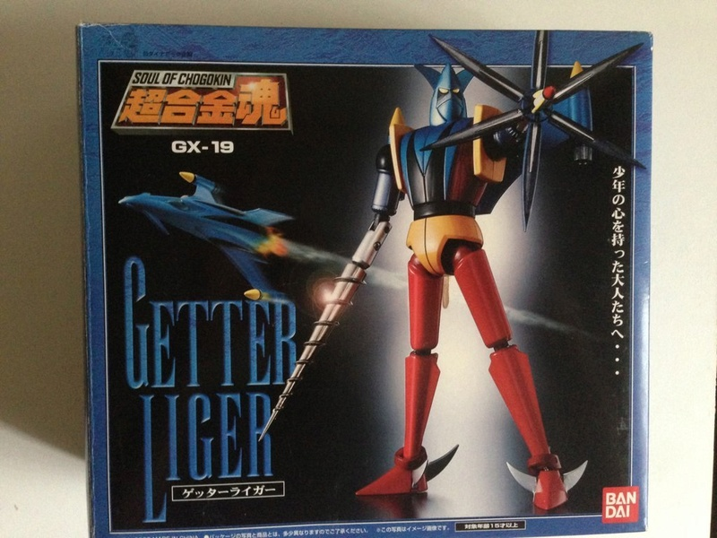 Vendo Soul of Chogokin getter robot gx 18 - 19 - 20 Img_2312