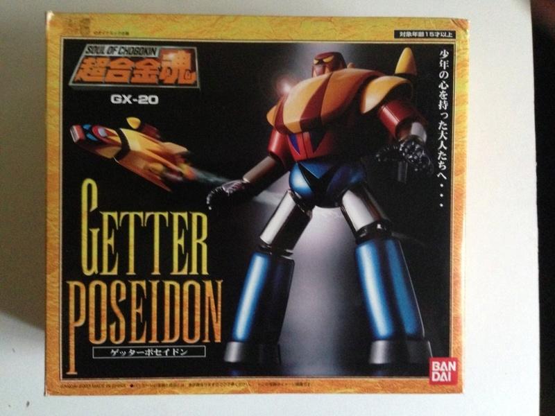 Vendo Soul of Chogokin getter robot gx 18 - 19 - 20 Img_2314