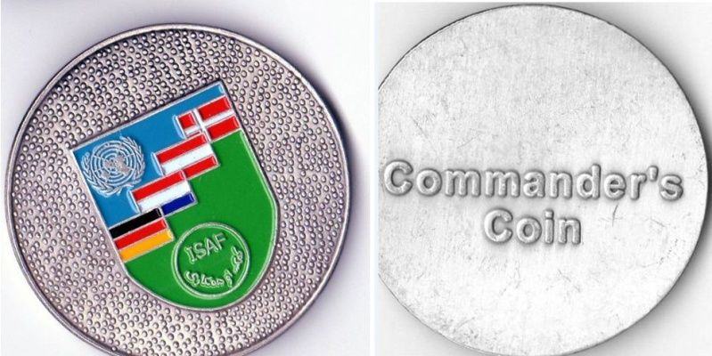 MY NATO Coin collection Isaf_131