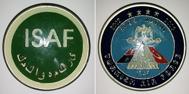 MY NATO Coin collection Isaf_227