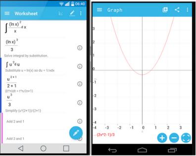 تطبيق رائع للهاتف لحل المعادلات الرياضية مهما بلغت صعوبتها MalMath 31010
