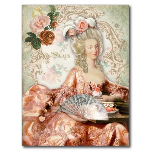 Cartes postales Marie-Antoinette Marie_10