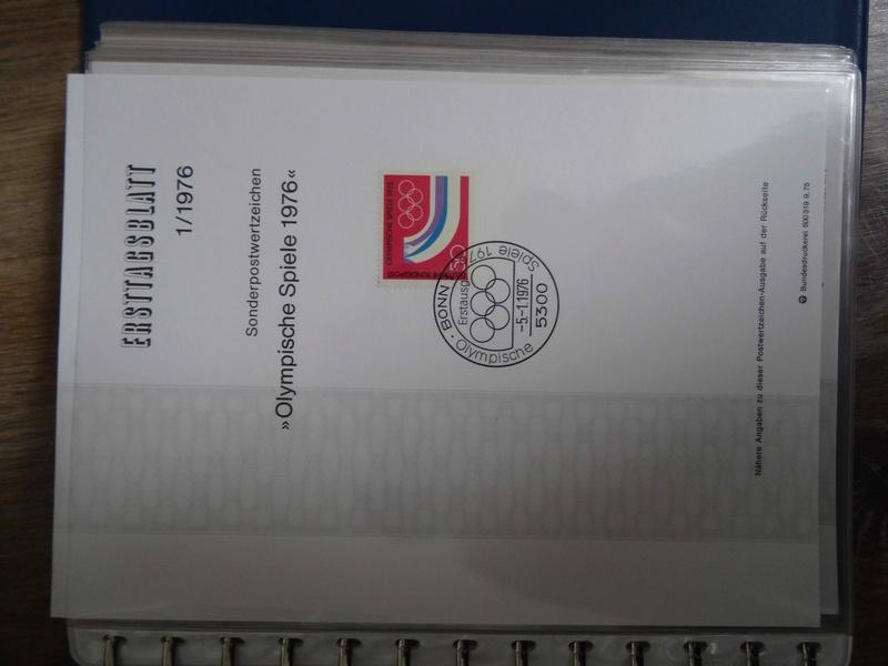 Bitte um Hilfe - Ersttagsblättersammlung aus Nachlass Dsc01210